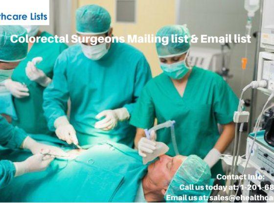 Colorectal Surgeons Mailing List | Colorectal Email List