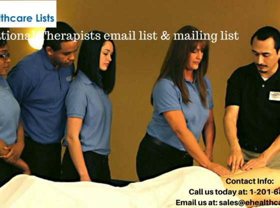 Occupational Therapy Assistants email list brokers Archives