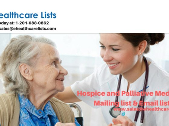 Hospice and Palliative Medicine Email List