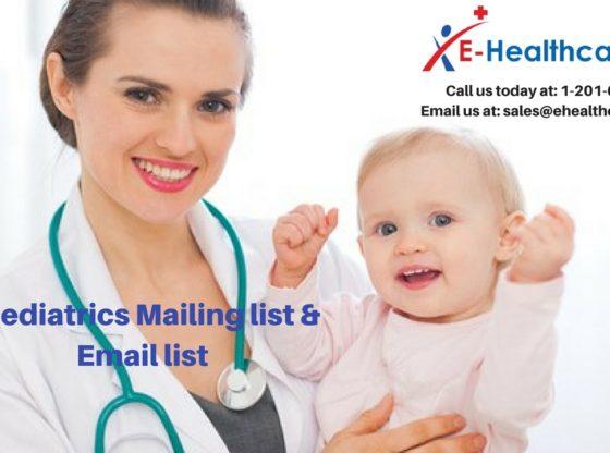 Paediatrics Mailing List | Paediatrics Email List