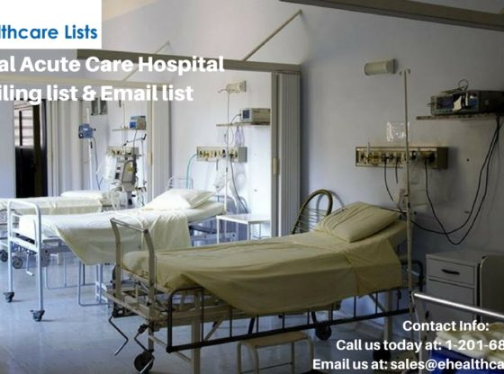 General Acute Care Hospital Mailing List| Acute Care List