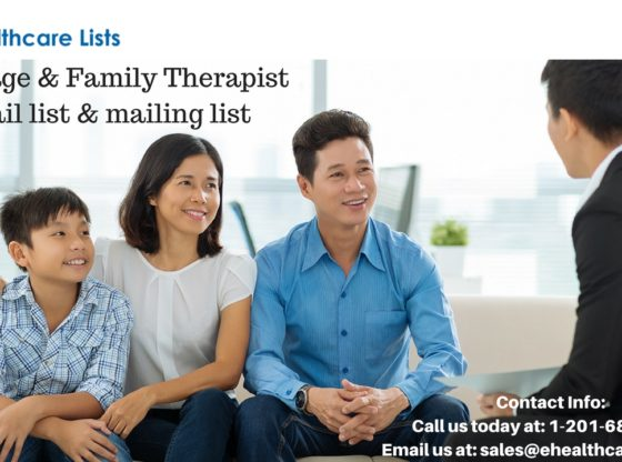 Marriage & Family Therapist Mailing List