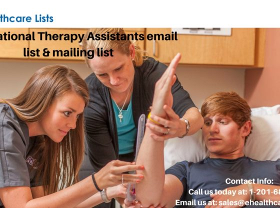 Occupational Therapy Assistants Mailing List