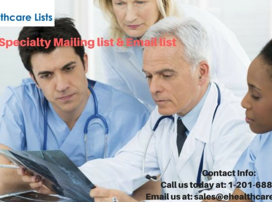 Other Specialty Mailing list | Other Specialty Email List
