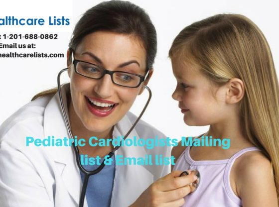 Pediatric Cardiologists Mailing List | Cardiologists List