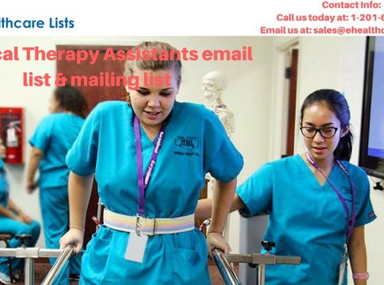 Physical Therapy Assistants Mailing List