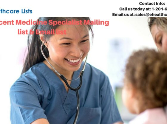 Adolescent Medicine Specialist Mailing List