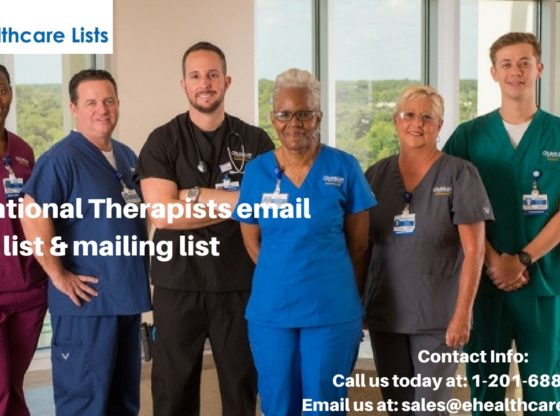 Recreational Therapists Mailing List| Therapists Email List