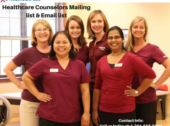 Healthcare Counselors Mailing List | Healthcare Email List