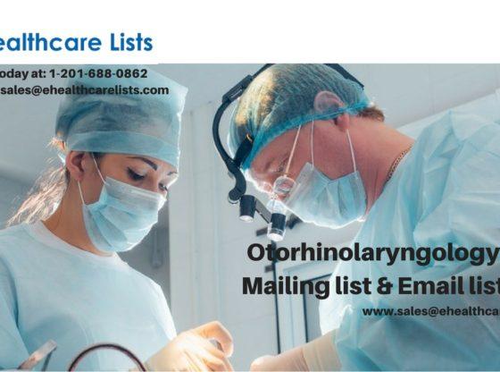 Otorhinolaryngology Mailing List | Otorhinolaryngology List
